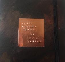 Metal stamped notebook