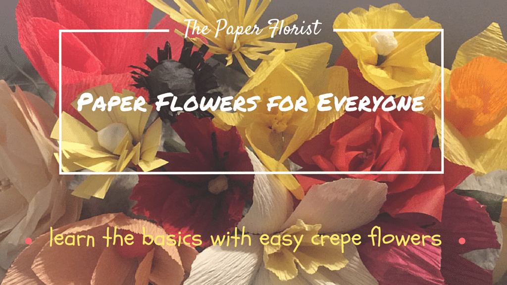 Paper flowers tuxedocatart well it is paper crafterse reason i have been mia for months very first class to teach on skillshare hopefully this is the first of mightylinksfo